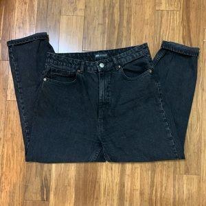 Zara High Waisted Mom Fit Jean (Size 10)